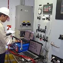 Serviço de comissionamento de cabos elétricos
