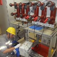 Serviço de conserto de disjuntor industrial